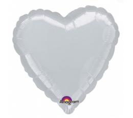 """Folinis balionas Širdelė (10vnt/""""9"""" 23*23cm.)"""