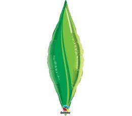 """Folinis balionas """"Žalias lapas"""" (13"""" 14x32cm.)"""