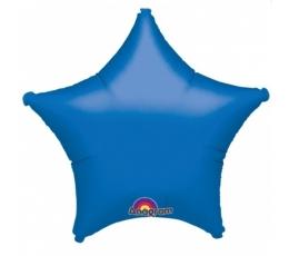 """Foliniai balionai """"Mėlynos žvaigždutės"""" (10 vnt. 12x13 cm.)"""