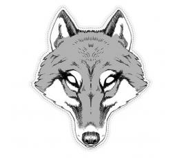 """Kaukė """"Vilkas"""", kartoninė"""