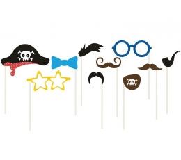 """Fotosesijos rinkinys """"Piratai"""" (10 vnt.)"""