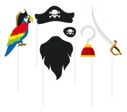 """Fotosesijos rinkinys """"Piratai"""" (6 vnt.)"""