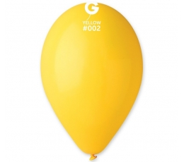 Balionai, geltoni pasteliniai (10vnt./28 cm.)