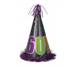 """Gimtadienio kepurė JUMBO / """"60"""" (1 vnt.)"""