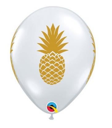 "Guminiai balionai ""Ananasai"" (25 vnt./ 28 cm.)"