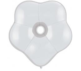 """Balionai """"Baltos gėlės"""" (25vnt./41cm. Q16)"""