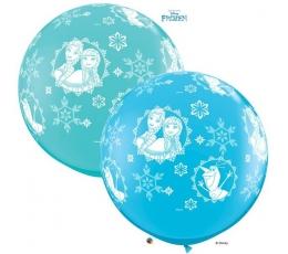 "Guminiai balionai ""Frozen"" (2vnt./86 cm./)"