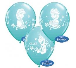 "Guminiai balionai ""Frozen"" (6vnt./30.48 cm)"