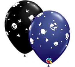 "Guminiai balionai ""Kosmosas"" (6 vnt./28cm. Q11)"