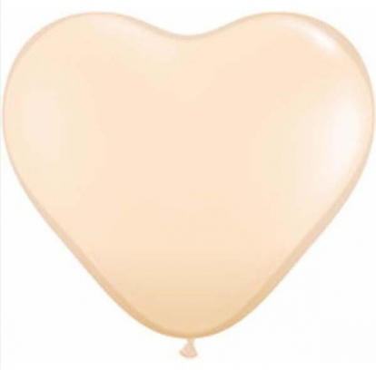 """Balionai """"Šampaninės širdelės"""" (100 vnt./15 cm)"""