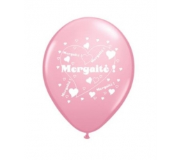 "Balionai ""Mergaitė"" / rožiniai (100 vnt./28cm.)"