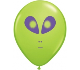 """Balionai """"Rimtasis Ufo"""" / žali (100vnt./28cm.Q11)"""