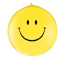 """Balionas """"Šypseniukas"""", geltonas (78cm. Q30)"""
