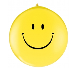 "Guminiai balionai ""Šypseniukai""/atvirkšč (2 vnt./78cm. Q30)"