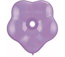 """Guminiai balionai """"Violetinės gėlės"""" (50vnt./15 cm./ Q6 cm.)"""