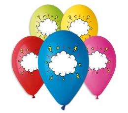 """Guminiai balionai """"Žinutė"""" (100 vnt./28cm.)"""