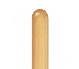 """Modeliavimo balionai """"CHROME"""" ,auksiniai (100 vnt./ Q260)"""