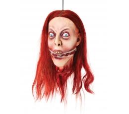 "Helovyno dekoracija ""Moters galva"""