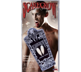 Ilgi dirbtiniai vampyro dantys