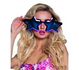 Jumbo akiniai / violetinės žvaigždės (1 vnt.)