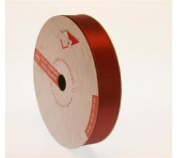 """Juostelė, bordo spalvos """"Double satin"""" (45m./25mm(S177))"""