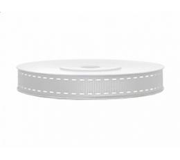 Juostelė medžiaginė/sidabrinė (25m.x15mm.)