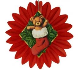 """Kalėdinė dekoracija """"Meškutis Tedis"""" (61 cm)"""