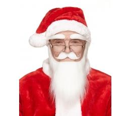 Kalėdų senelio ūsai/barzda/antakiai (036-LGME)