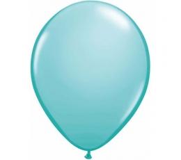Karibų jūros mėlio pasteliniai balionai (25 vnt./28 cm.Q11)