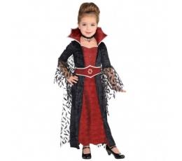 "Karn. kostiumas ""Mirusi karalienė"" (110 - 116 cm.)"
