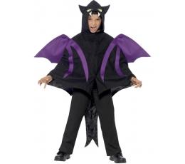 """Karn. kostiumas """"Šikšnosparnio gaubtas"""" (116 - 152 cm.)"""