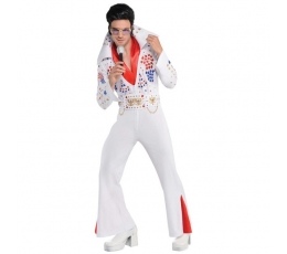 "Karnav. kostiumas ""Vegas'o karalius"" (168 - 190 cm.)"