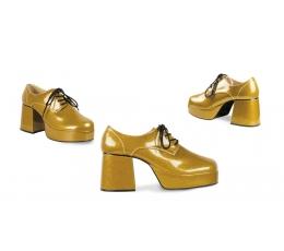 Karnavaliniai Disco batai / auksiniai (EU 41/UK 7.5/AKCIJA)