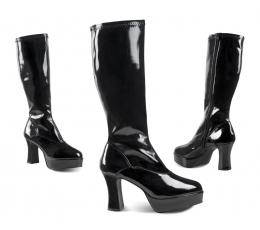 Karnavaliniai Disco batai / juodi (EU 37/UK 3.5/AKCIJA)