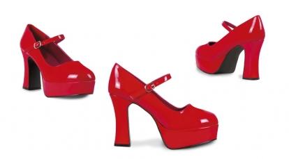 Karnavaliniai Disco batai / raudoni (EU 38/UK 4.5)