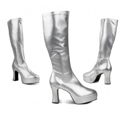 Karnavaliniai Disco batai / sidabriniai (EU 37/UK 3.5)