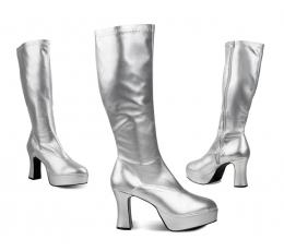 Karnavaliniai Disco batai / sidabriniai (EU 38/UK 4.5)