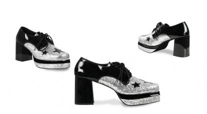 Karnavaliniai Roko žvaigždės batai (EU 41/UK 7.5)
