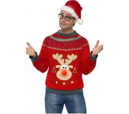 "Karnavalinis kost. ""Kalėdinis megztukas"" (168-190 cm. /L)"