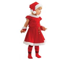 """Karnavalinis kostiumas """"Kalėdų mergaitė"""" (122-128 cm)"""