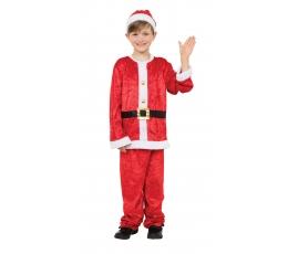 """Karnavalinis kostiumas """"Kalėdų senelis"""" (130 - 140 cm.)"""