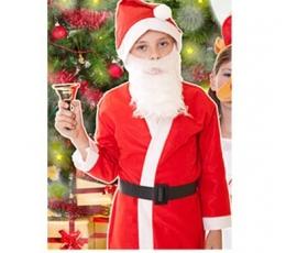 """Karnavalinis kostiumas Kalėdų senelis"""" (130-140 cm.)"""