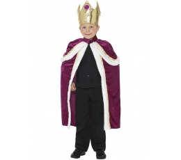 """Karnavalinis kostiumas """"Karalius"""" (146 - 158 cm.)"""