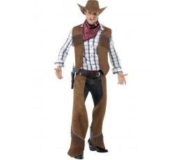 """Karnavalinis kostiumas """"Kaubojus"""" (168-190 cm. M)"""