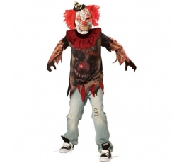"""Karnavalinis kostiumas """"Klounas"""" (162 - 174 cm.)"""