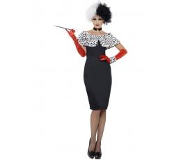 """Karnavalinis kostiumas """"Madam blogis"""" (168-175 cm/M)"""