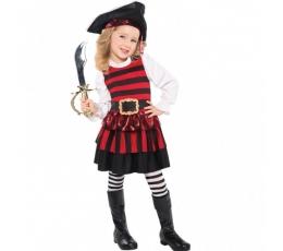 """Karnavalinis kostiumas """"Mažoji piratė"""" (94-100 cm.)"""