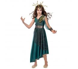 """Karnavalinis kostiumas """"Medūza"""" (130 - 146 cm.)"""