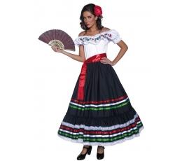 """Karnavalinis kostiumas """"Meksikietė"""" (Dydis: L)"""