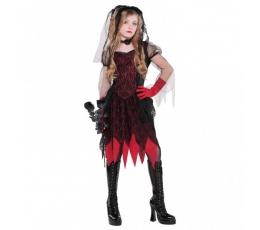 """Karnavalinis kostiumas """"Mirties nuotaka"""" (128 - 152 cm.)"""